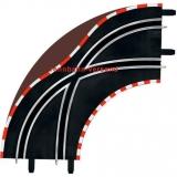 Carrera GO Spurwechselkurve